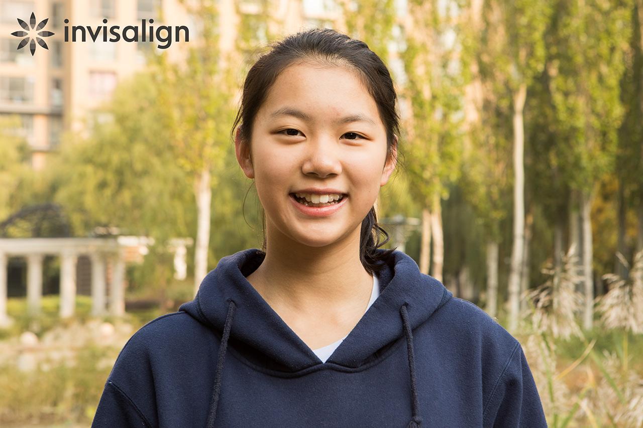 Altı milyonuncu Invisalign hastası olan 12 yaşındaki Yuzhe